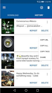 Video Downloader for Instagram - Repost Instagram Screenshot