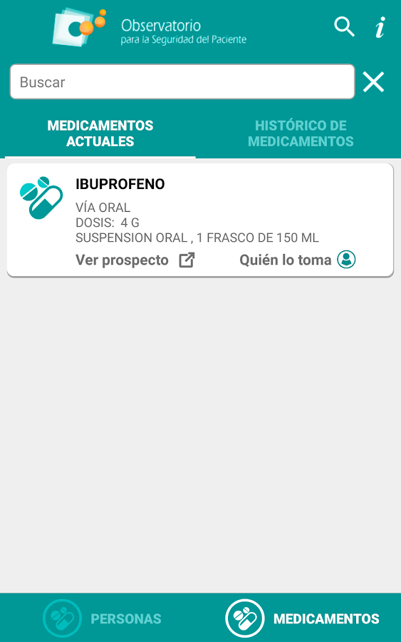 RecuerdaMed- screenshot