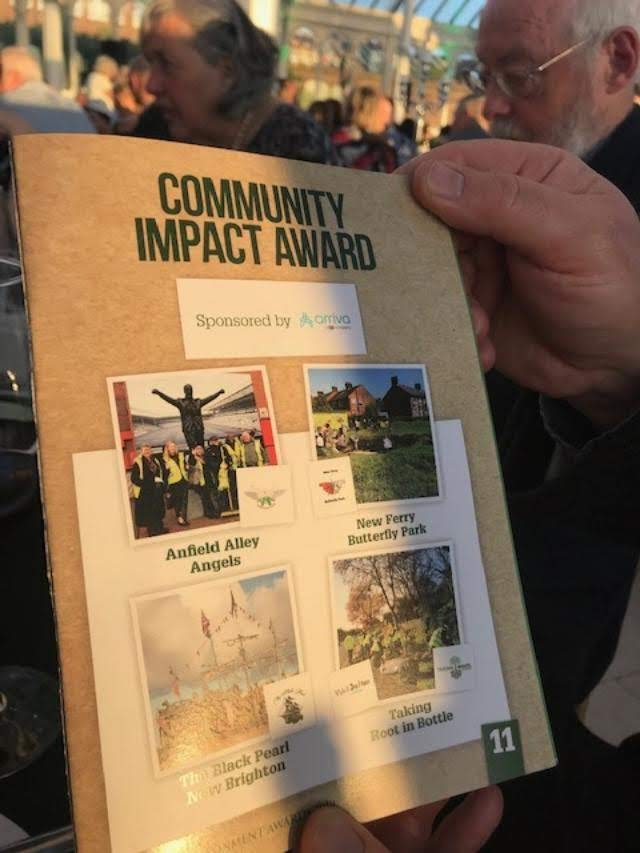 Nominees in the Community Impact category. Photo: S Foley