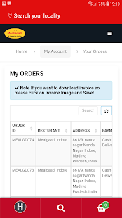 MealGaadi - Late Night Veg Food Delivery in Indore- screenshot thumbnail