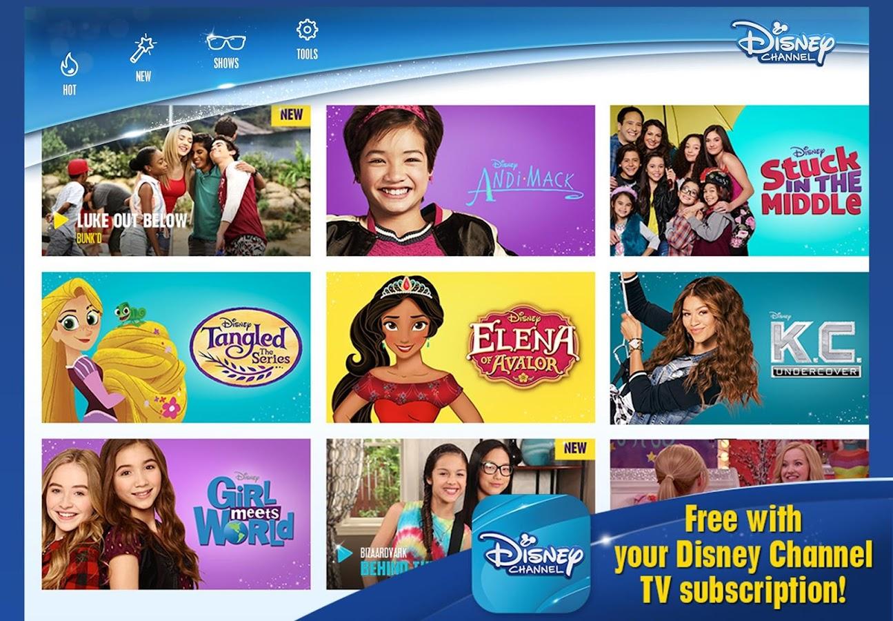 disney tv shows. disney channel canada- screenshot tv shows h