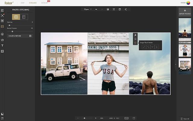 Fotor's Collage Maker