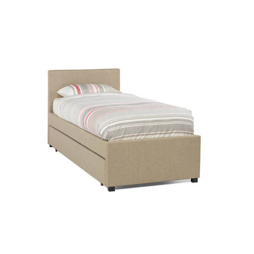 Serene Lily Trundle Bed Frame Wholemeal