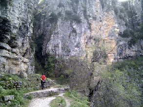 Photo: on the way from the monastery to the old bridge