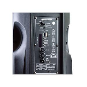 Boxa Bluetooth 20W cu microfon, lumini si telecomanda CH-811