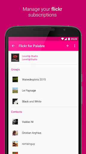 Palabre for Flickr Apk Download Free for PC, smart TV
