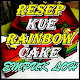 Resep Kue Rainbow Cake Mantap Kekinian Download on Windows