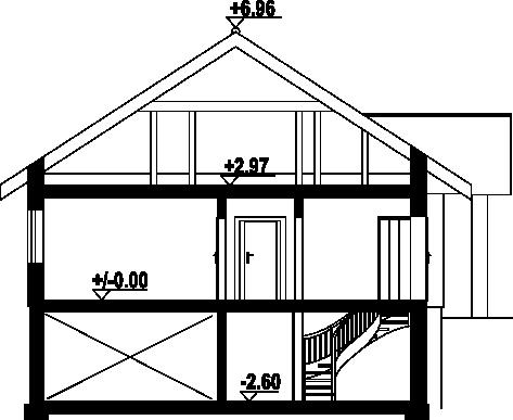 Dębina m9 - Przekrój