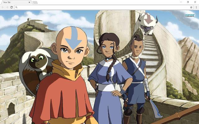 Avatar The Last Airbender New Tab