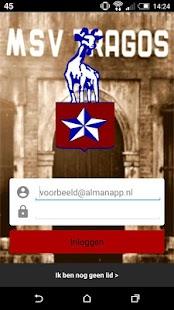 MSV Tragos App - náhled