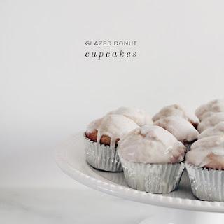 Glazed Donut Cupcakes.