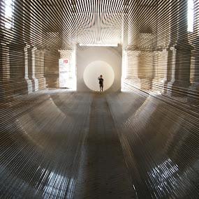 Žilvinas Kempinas, 2009 by Riccardo Lazzari - Buildings & Architecture Other Interior ( venezia, biennale, contemporary, art, kempinas, circle, pwc79,  )