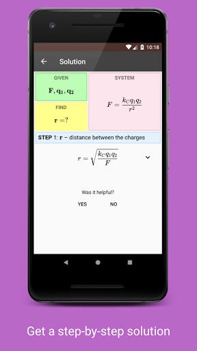 Betaphysics u2014 physics solver and formulas helper android2mod screenshots 5