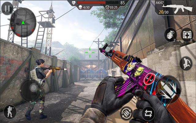 Critical Action Gun Strike Ops Shooting Game
