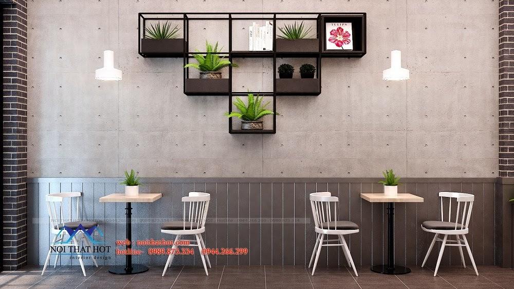 thiết kế quán trà sữa độc đáo