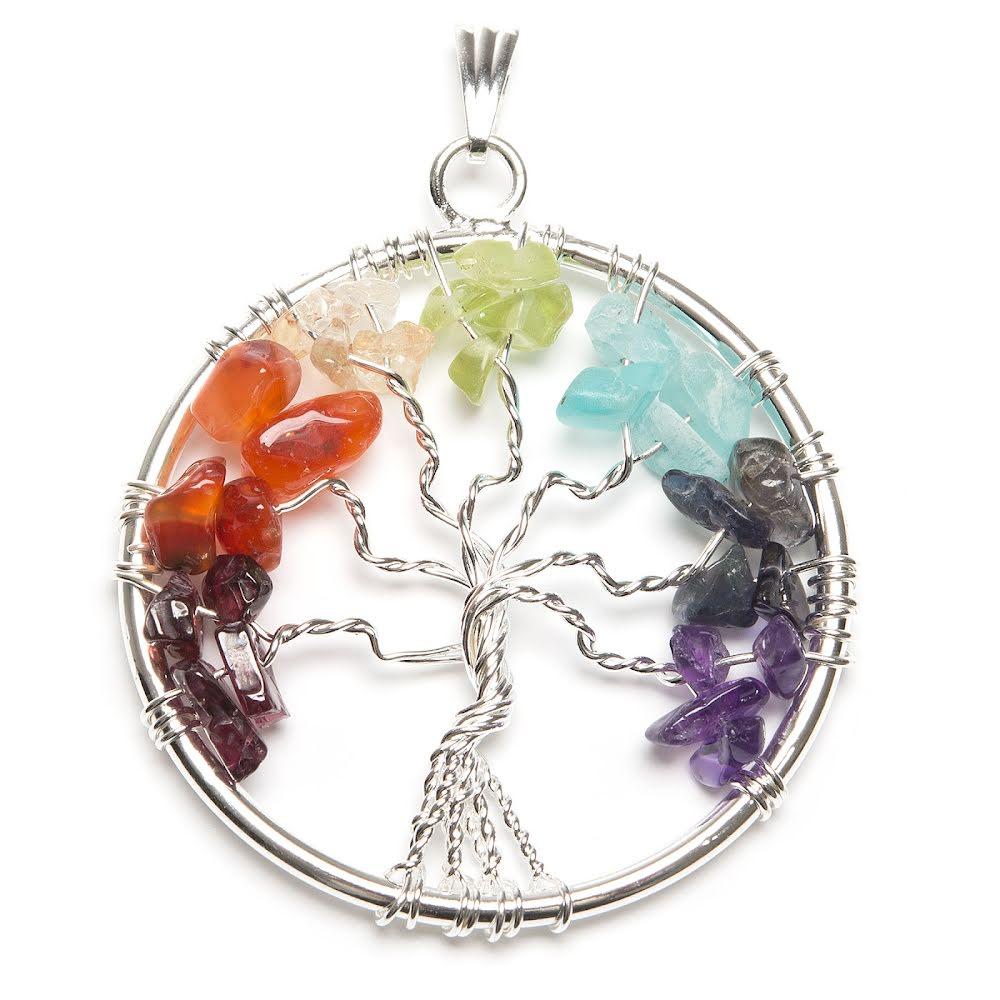 Chakra hänge Livets träd
