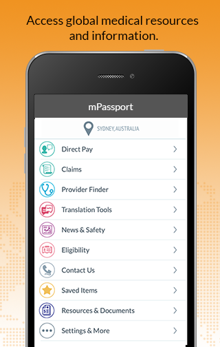mPassport- screenshot