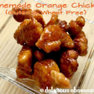 Homemade Orange Chicken (Gluten and Wheat Free)