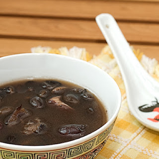 Chinese Black Bean Soup.