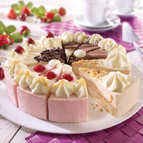 Abbildung Gemischte Sahne Torte