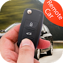 Car key lock remote prank icon