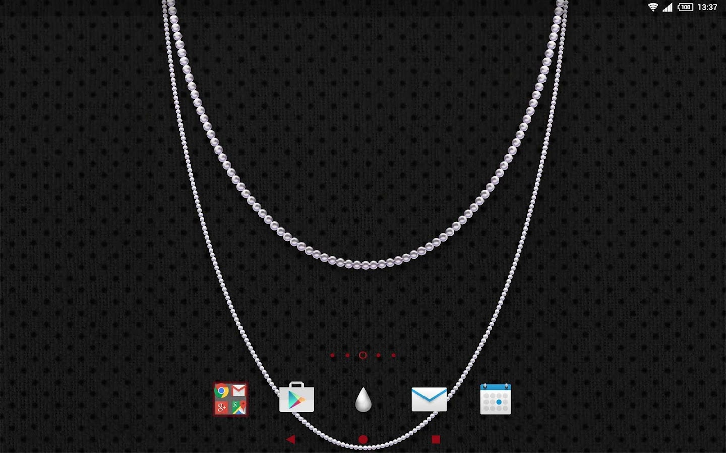XPERIA™ Pearls Theme- screenshot