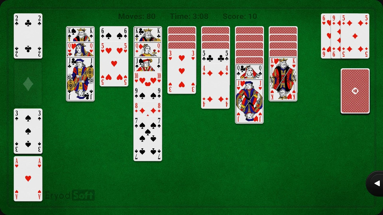 solitaire klondike android apps on google play