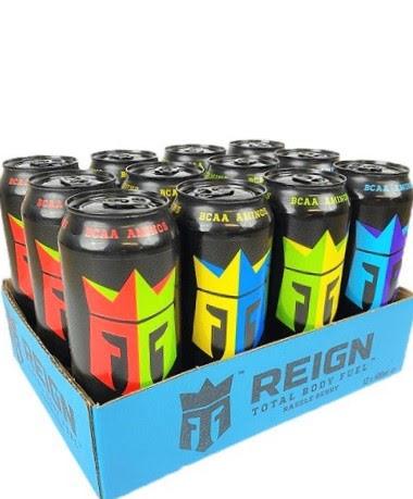 12 x Reign Energy 500ml Mixflak