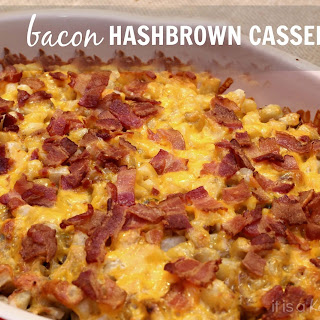 Bacon Hash Brown Casserole.