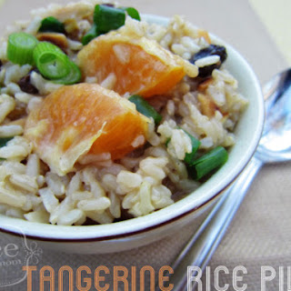 Tangerine Rice Pilaf- Lunch Version