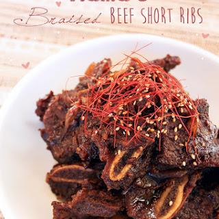 Korean Style Beef Short Ribs