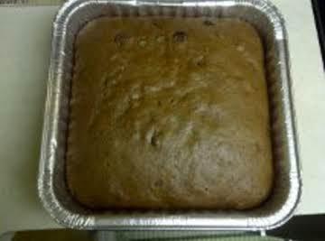 Gingerbread apple bars W/ Rum :D