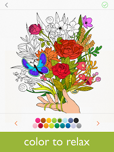 colorfy coloring book for adults free screenshot thumbnail - Best Coloring Book App