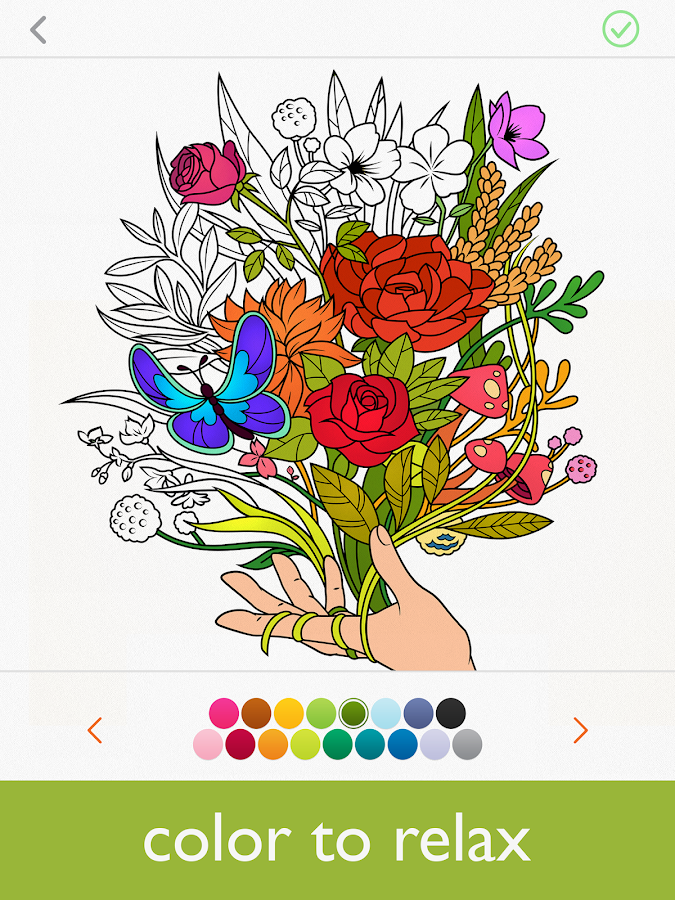 colorfy coloring book for adults free screenshot - Color Books For Adults