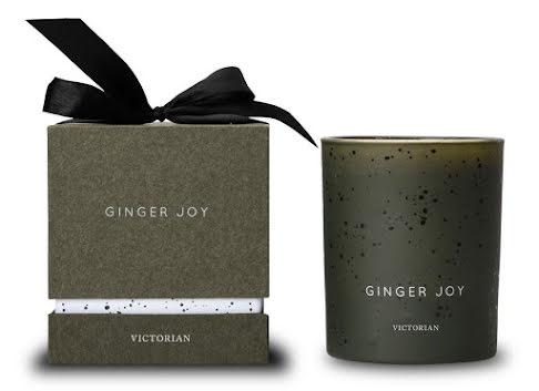 Victorian Ginger Joy Doftljus