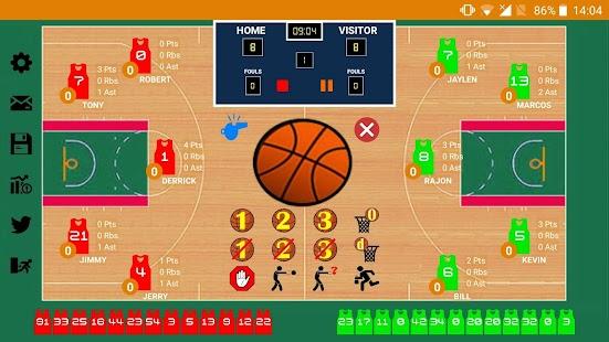 Basketball Stats Assistant Pro - náhled