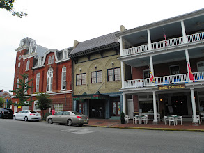 Photo: Chestertown business district