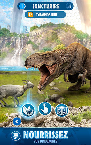 Jurassic World Alive fond d'écran 2