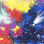 Enlightment by Anna Cole - Painting All Painting ( abstract, colorful, abstract art, art, space,  )