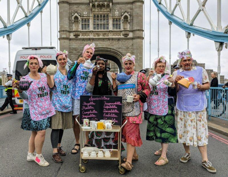 Tower Bridge tea party