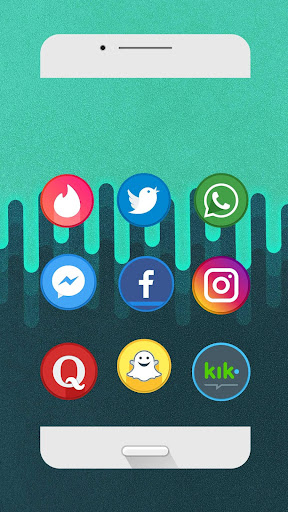 Circlet Icon Pack (Beta) (Unreleased) Apps para Android screenshot