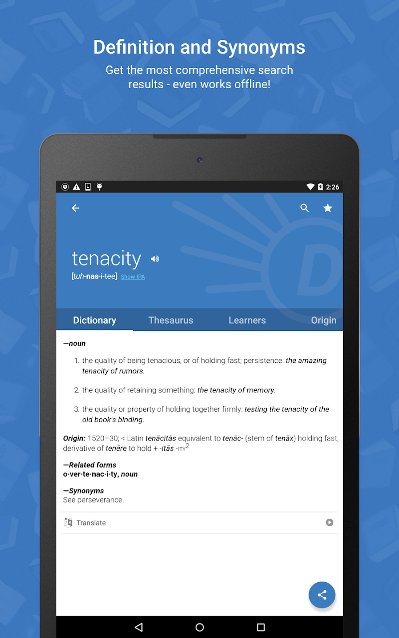 Dictionary.com Premium Screenshot 15