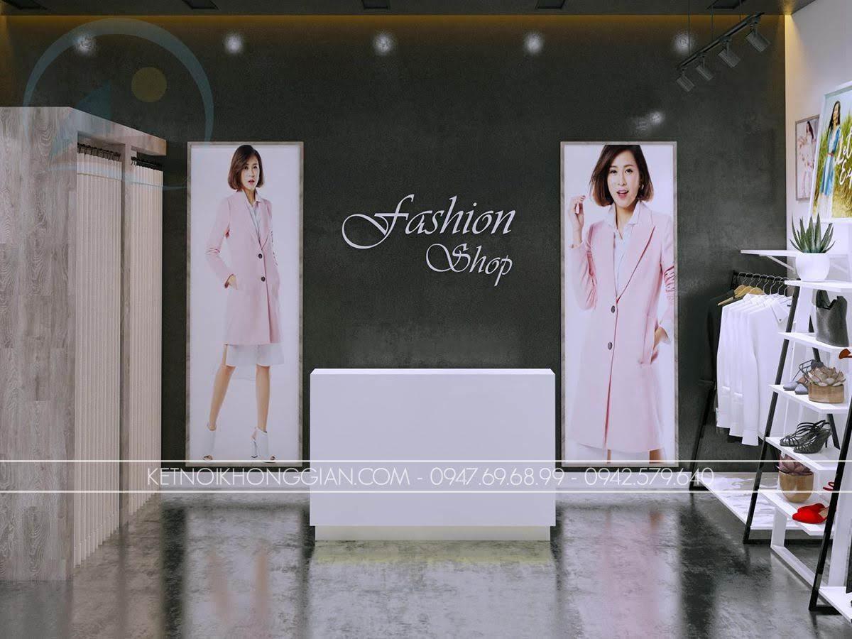 mẫu thiết kế shop thời trang giá rẻ số 1 - 4