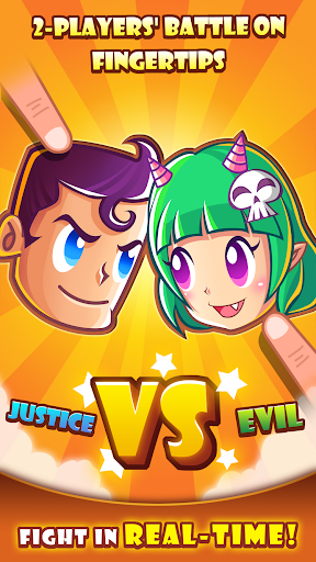Justice vs Evil 2-Player Duel