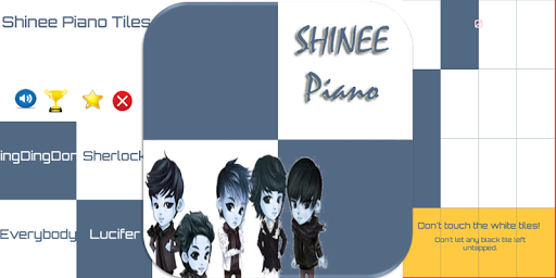 Shinee Piano Tiles