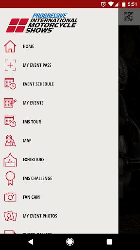 IMS Mobile App Screenshot