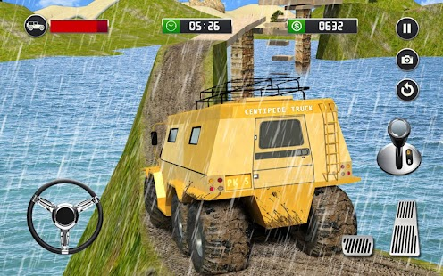 8 Wheeler Russian Truck 3D Sim- screenshot thumbnail
