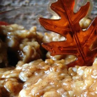 Overnight Pumpkin Pie Oatmeal
