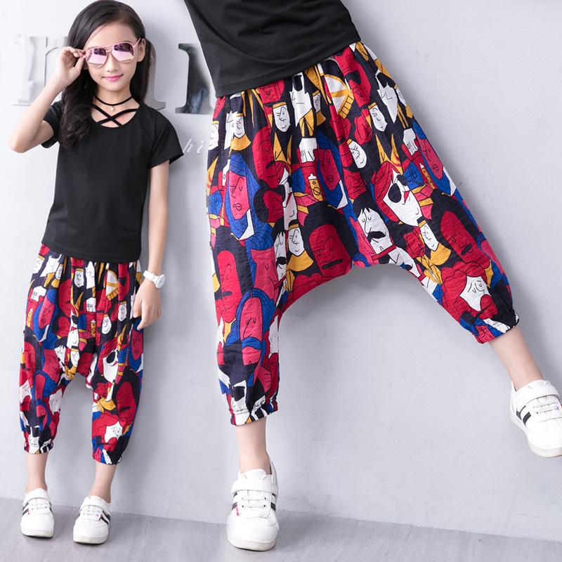 Spodnie haremki dla dziewczynki