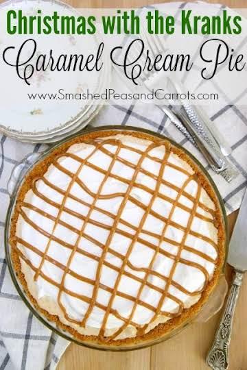 Christmas with the Kranks Caramel Cream Pie Recipe